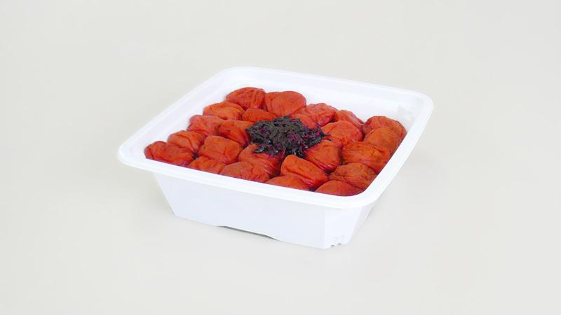 画像1: しそ漬け【塩分8%】ご家庭用容器入 900g入 (1)