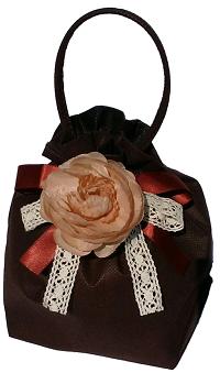 画像1: 季節の巾着:ショコラ