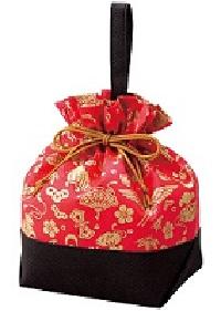 画像1: 季節の巾着:松竹梅